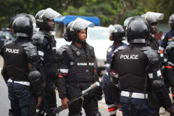 Ghana Police in Manhunt for Two Personnel