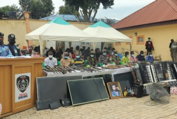 NIGERIA: Police Arrests 3 Suspects For Bethel School Abduction… Also Arrests 50 Notorious Criminals… Recovers 27 Rifles, 2,720 Ammunition, Others