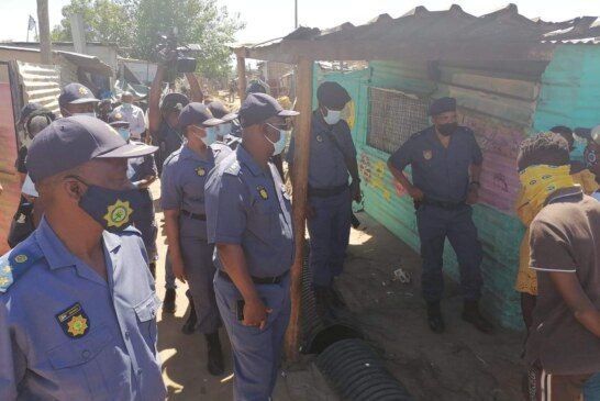 SOUTH AFRICA: Police Arrests 910 Suspects For Various Crimes In One Day