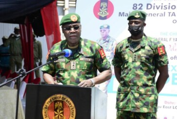 """NIGERIA: """"Keep Respecting Populace's Human Rights"""" – Army Chief Cautions Troops… Flags-Off Army Exercises To Curb Insecurity… Seeks Synergy Among Stakeholders"""