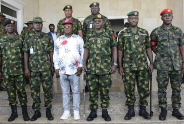 NIGERIA: Army Chief Assesses Exercise GOLDEN DAWN in Ebonyi, Anambra