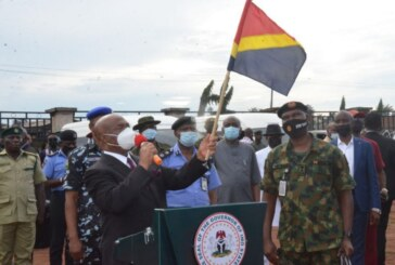 """NIGERIA: """"Target Criminal Elements In Imo"""" – Uzodima Tells Troops… Flags-Off Exercise GOLDEN DAWN"""